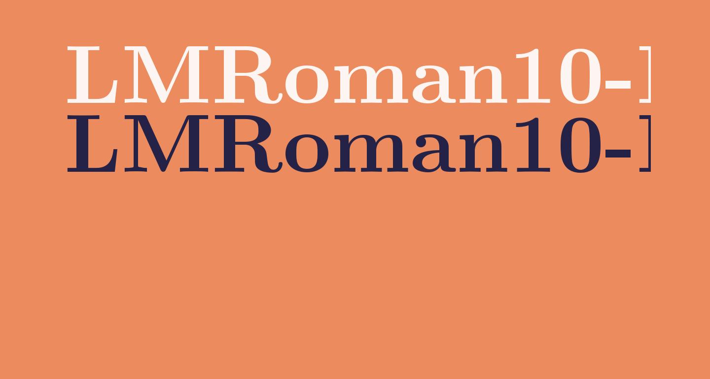 LMRoman10-Bold