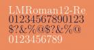 LMRoman12-Regular