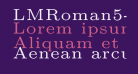 LMRoman5-Regular