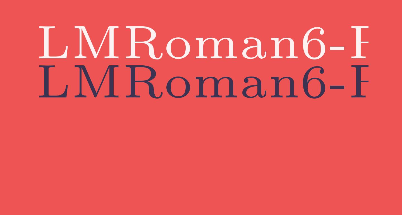 LMRoman6-Regular
