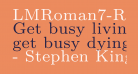 LMRoman7-Regular