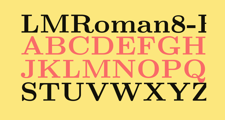 LMRoman8-Bold