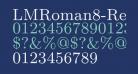 LMRoman8-Regular