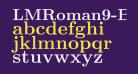 LMRoman9-Bold
