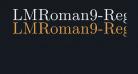 LMRoman9-Regular