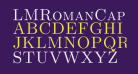 LMRomanCaps10-Regular