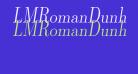 LMRomanDunh10-Oblique