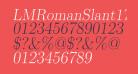 LMRomanSlant17-Regular