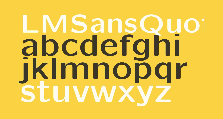 LMSansQuot8-Bold