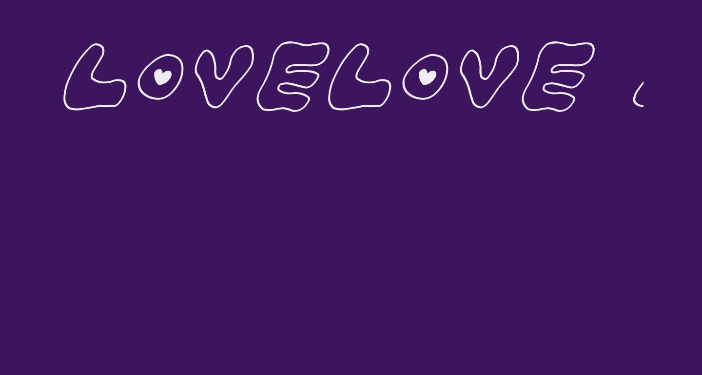LOVELOVE_AhanIyan