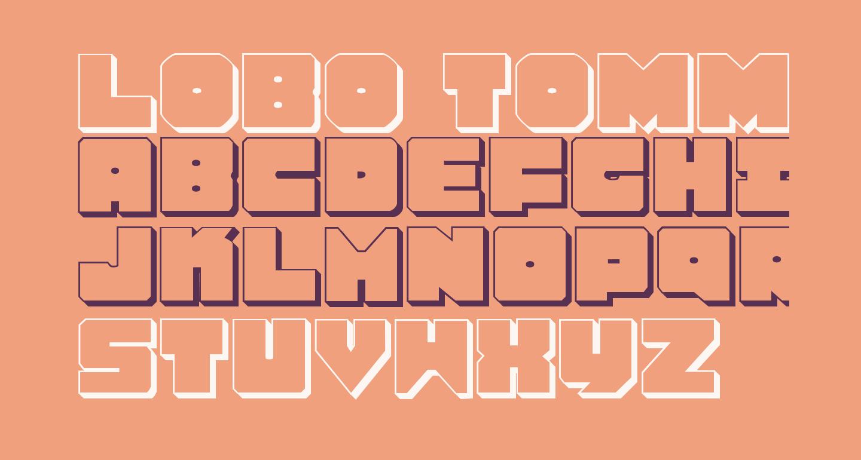 Lobo Tommy 3D