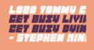 Lobo Tommy CondItalic