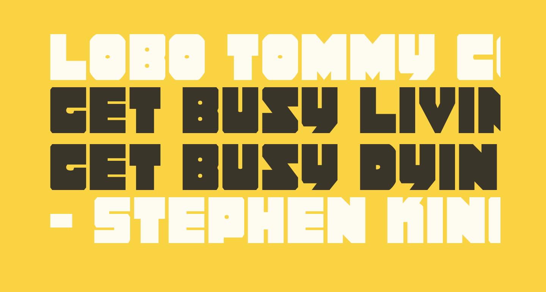 Lobo Tommy Condensed