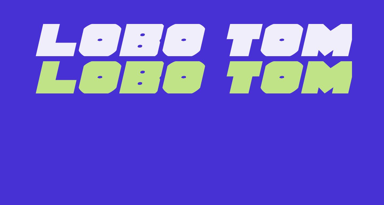 Lobo Tommy ExpItalic