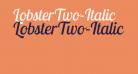 LobsterTwo-Italic