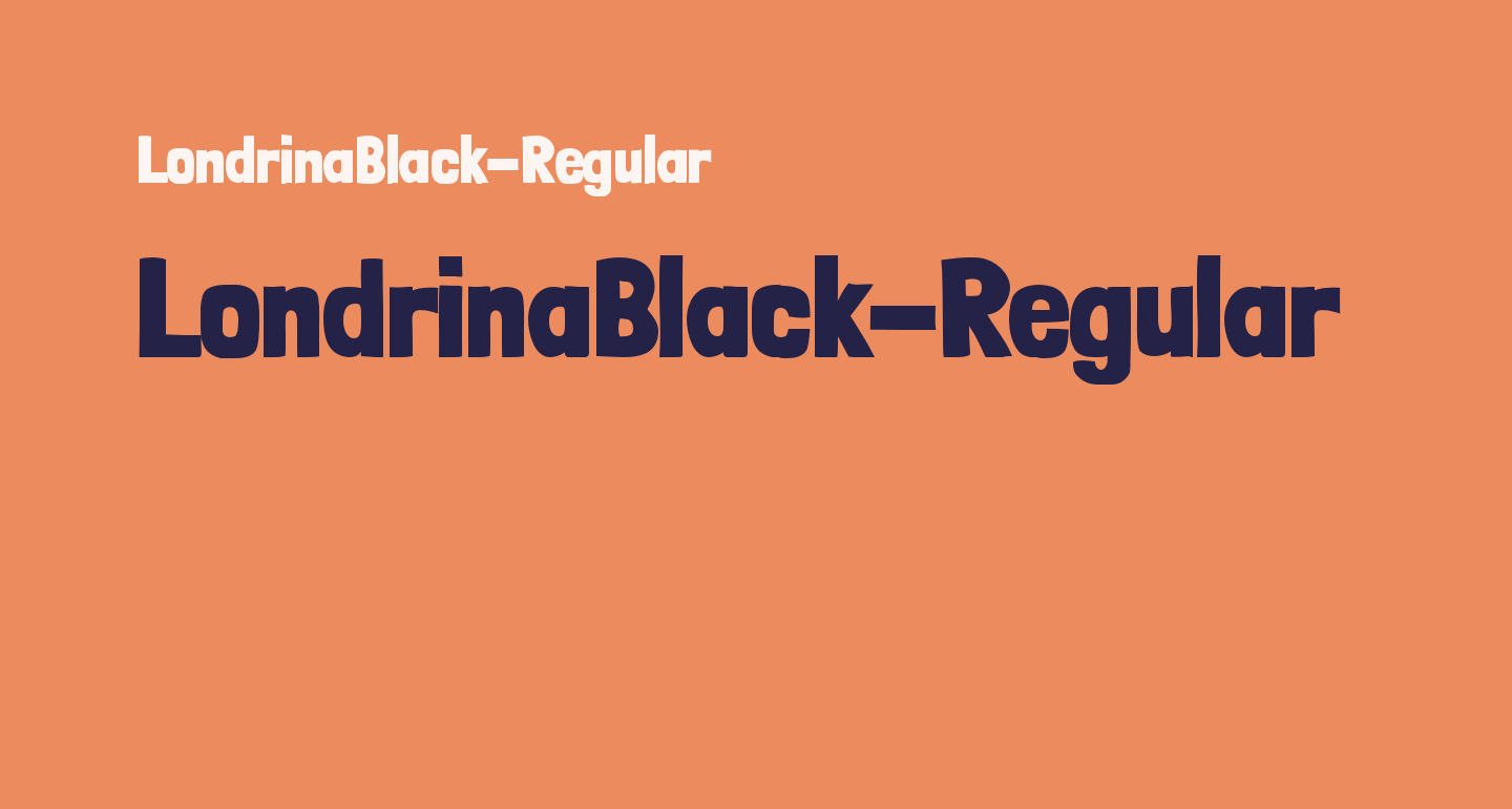 LondrinaBlack-Regular