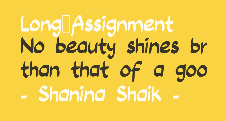 Long_Assignment