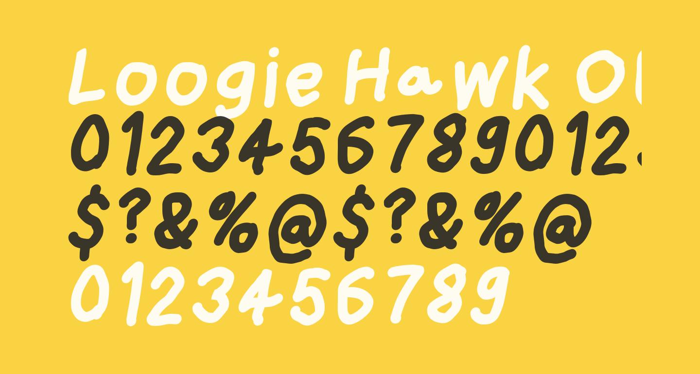 Loogie Hawk Oblique