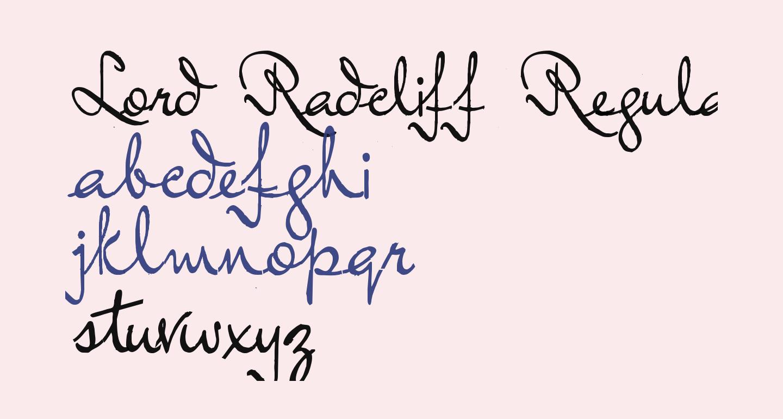 Lord Radcliff Regular