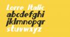 Lorre Italic