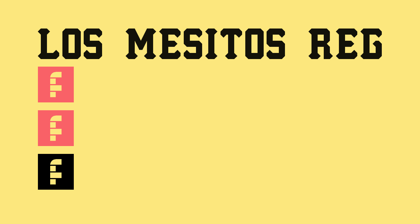 Los Mesitos Regular