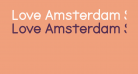 Love Amsterdam Sans Filled Regular