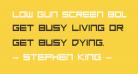 Low Gun Screen Bold