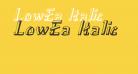 LowEa Italic