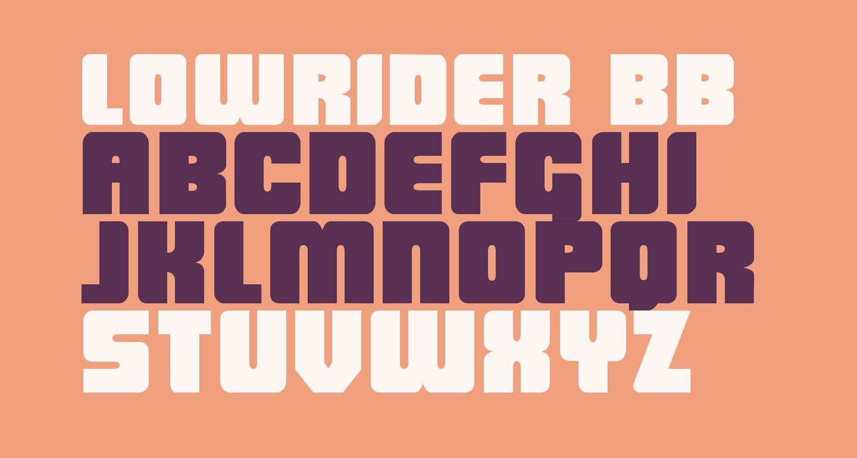LowRider BB