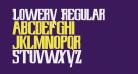 Lowery Regular