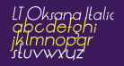 LT Oksana Italic