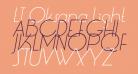 LT Oksana Light Italic