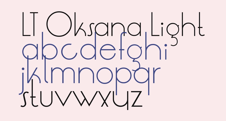 LT Oksana Light