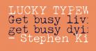 LUCKY TYPEWRITER