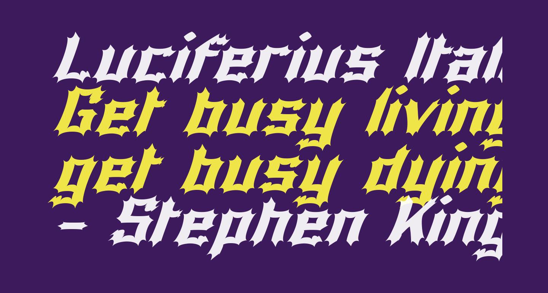 Luciferius Italic