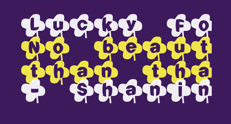 Lucky Font