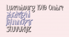 Luxembourg 1910 Ombre