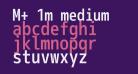 M+ 1m medium