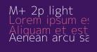 M+ 2p light