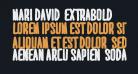 MARI&DAVID  EXTRABOLD