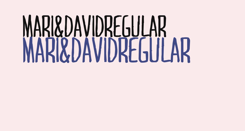 MARI&DAVIDRegular