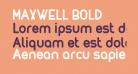 MAXWELL BOLD