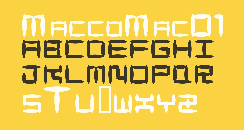 MaccoMac01