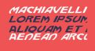 Machiavelli Italic