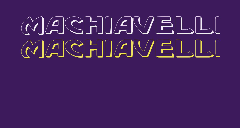 Machiavelli Shadow