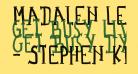 Madalen Letter