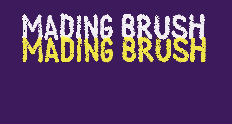 Mading Brush