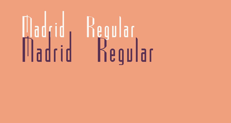 Madrid Regular