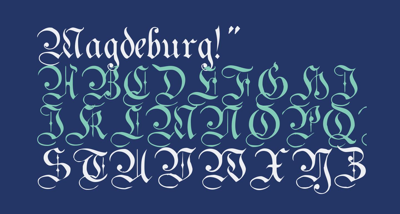Magdeburg!'