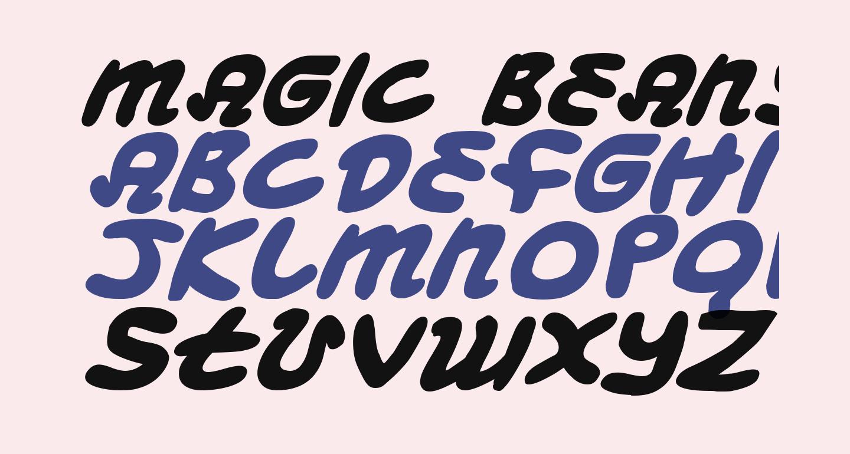 Magic Beans Bold Italic